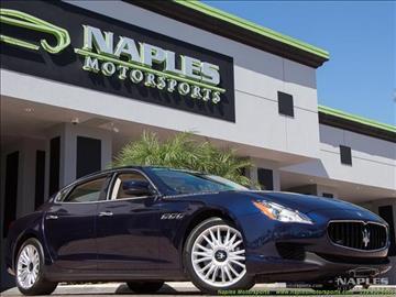 2014 Maserati Quattroporte for sale in Naples, FL