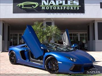 2015 Lamborghini Aventador for sale in Naples, FL