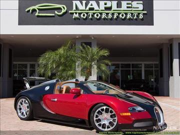 2012 Bugatti Veyron 16.4 for sale in Naples, FL