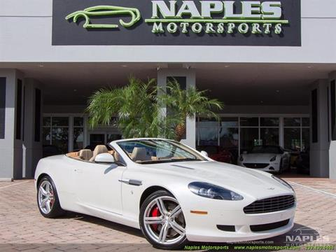 2010 Aston Martin DB9 for sale in Naples, FL