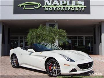 2017 Ferrari California T for sale in Naples, FL