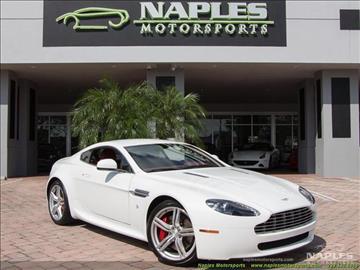 2010 Aston Martin V8 Vantage for sale in Naples, FL
