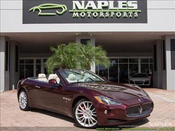 2014 Maserati GranTurismo for sale in Naples, FL