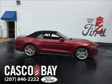 2017 Ford Mustang for sale in Yarmouth, ME