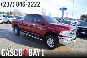2012 RAM Ram Pickup 2500 for sale in Yarmouth, ME