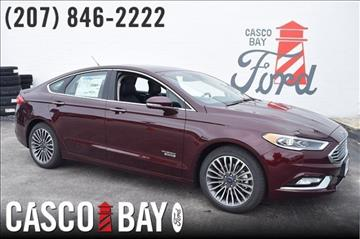 2017 Ford Fusion Energi for sale in Yarmouth, ME