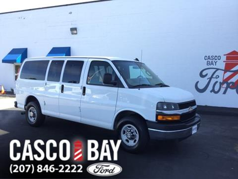 2016 Chevrolet Express Passenger for sale in Yarmouth, ME