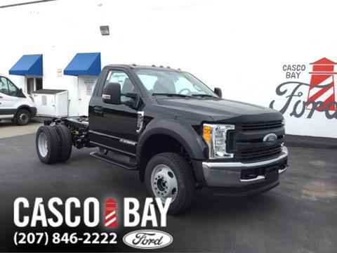 2017 Ford F-550 for sale in Yarmouth, ME