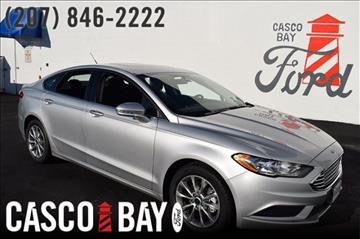 2017 Ford Fusion for sale in Yarmouth, ME