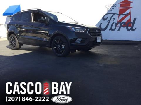 2017 Ford Escape for sale in Yarmouth, ME