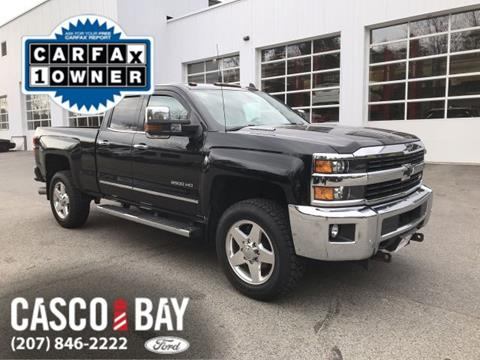 2015 Chevrolet Silverado 2500hd For Sale In Yarmouth Me