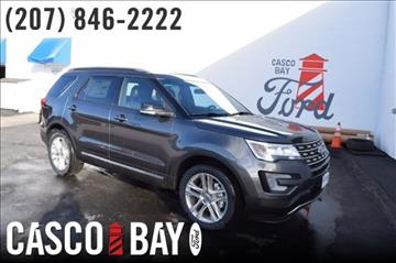 2017 Ford Explorer for sale in Yarmouth, ME