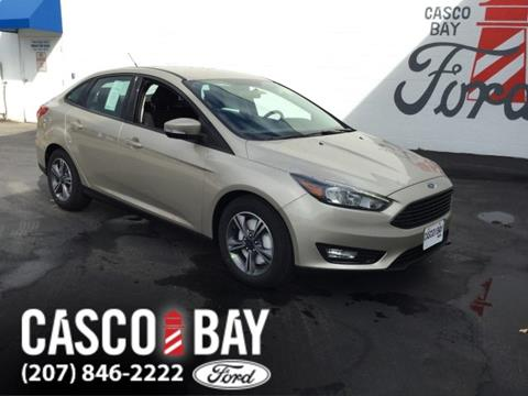 2017 Ford Focus for sale in Yarmouth, ME