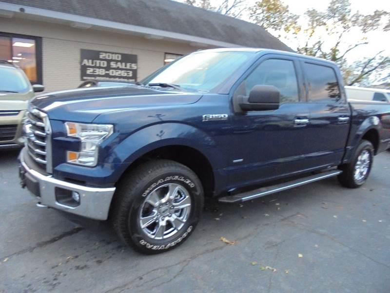2016 ford f 150 xlt 4x4 4dr supercrew 5 5 ft sb in troy ny 2010 auto sales. Black Bedroom Furniture Sets. Home Design Ideas