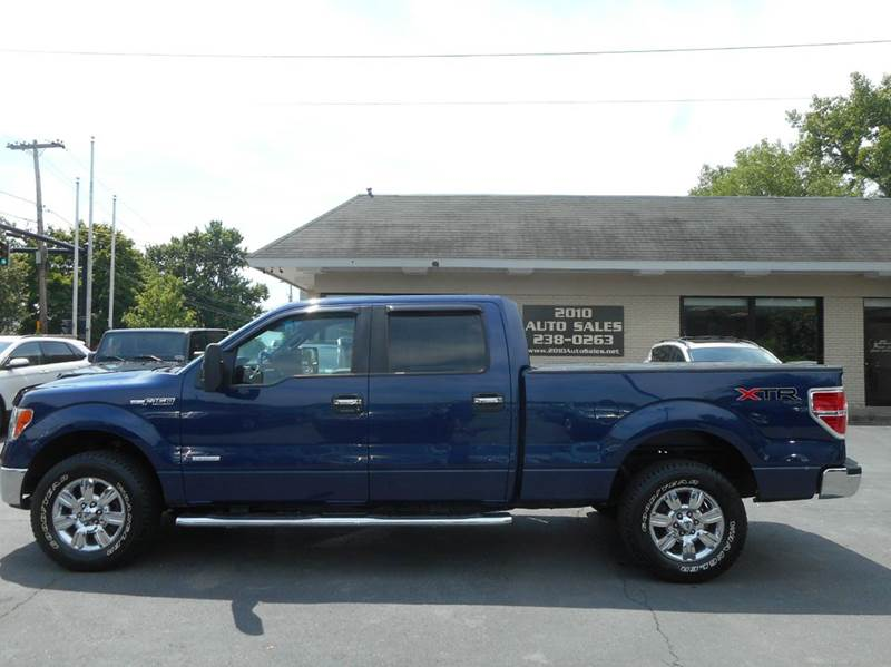 2011 ford f 150 xlt 4x4 4dr supercrew styleside 6 5 ft sb in troy ny 2010 auto sales. Black Bedroom Furniture Sets. Home Design Ideas
