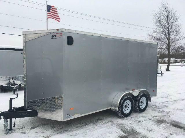 2018 Royal Cargo RWT 7X14 VNOSE RAMP DOOR