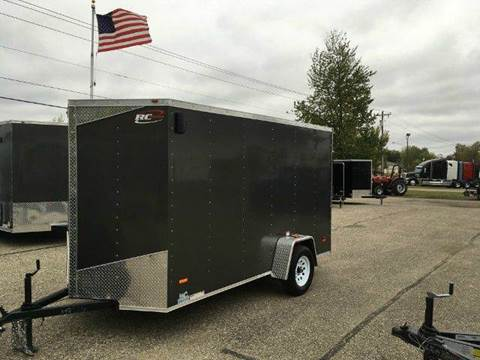 "2018 Royal Cargo RWT 6X12 VNOSE RAMP DOOR 6"" AD"