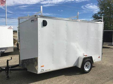 2017 Royal Cargo RWT 6X12 VNOSE DOUBLE DOOR 6""