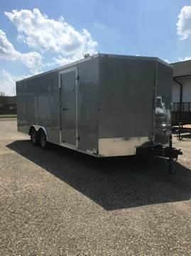 2018 Cargo Mate EHW 8.5X20 TA2 V NOSE CAR HAUL