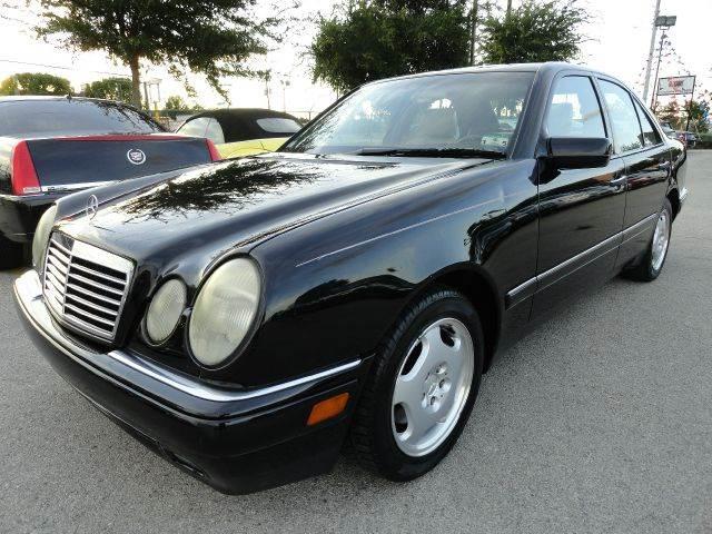 1997 mercedes benz e class e420 4dr sedan in dallas tx boss motor company. Black Bedroom Furniture Sets. Home Design Ideas