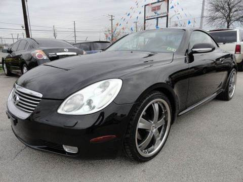 2002 Lexus SC 430 for sale in Dallas, TX