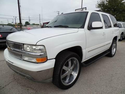 2005 Chevrolet Tahoe for sale in Dallas, TX