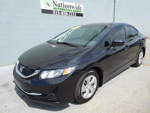 2015 Honda Civic for sale in Monroe, OH