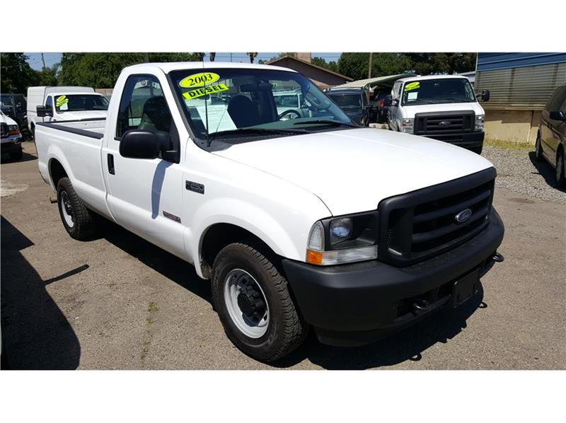 2003 Ford F250 Super Duty Regular Cab XL Pickup 2D 8 ft - Riverbank CA