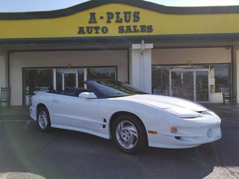 1998 Pontiac Firebird for sale in Longs, SC