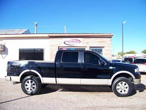 2007 Ford F-150 for sale in Burlington, CO