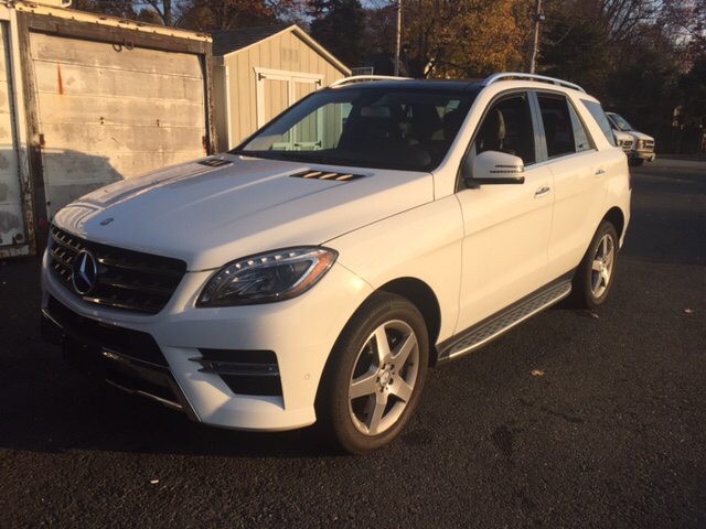 2014 mercedes benz m class ml550 awd 4matic 4dr suv in for Mercedes benz rockland