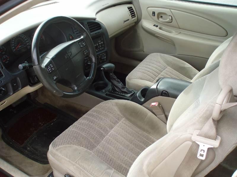 2002 Chevrolet Monte Carlo SS 2dr Coupe - Clinton TN