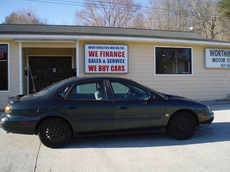 1998 Ford Taurus SE 4dr Sedan - Clinton TN