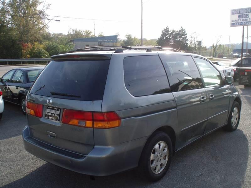 2002 Honda Odyssey EX-L 4dr Mini-Van w/DVD and Leather - Clinton TN