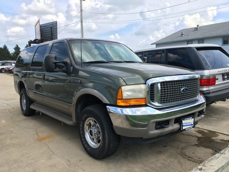 2000 ford excursion 4dr limited 4wd suv in champaign il springfield preowned. Black Bedroom Furniture Sets. Home Design Ideas