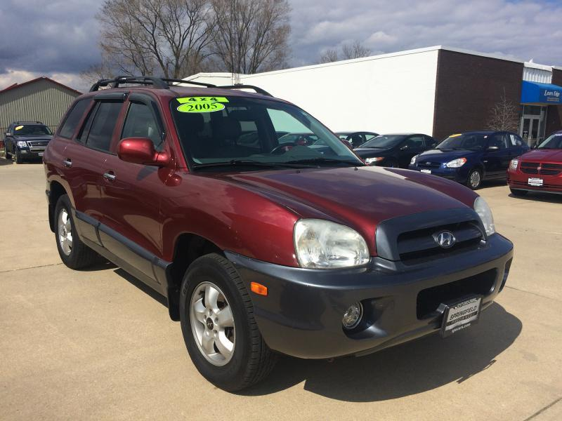 2005 hyundai santa fe awd gls 4dr suv in champaign il springfield preowned. Black Bedroom Furniture Sets. Home Design Ideas
