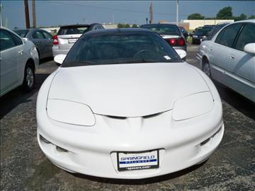 1999 Pontiac Firebird for sale in Springfield, IL