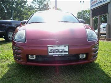 2001 Mitsubishi Eclipse Spyder for sale in Springfield, IL