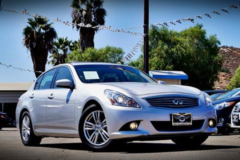 2013 Infiniti G37 Sedan for sale in Spring Valley, CA