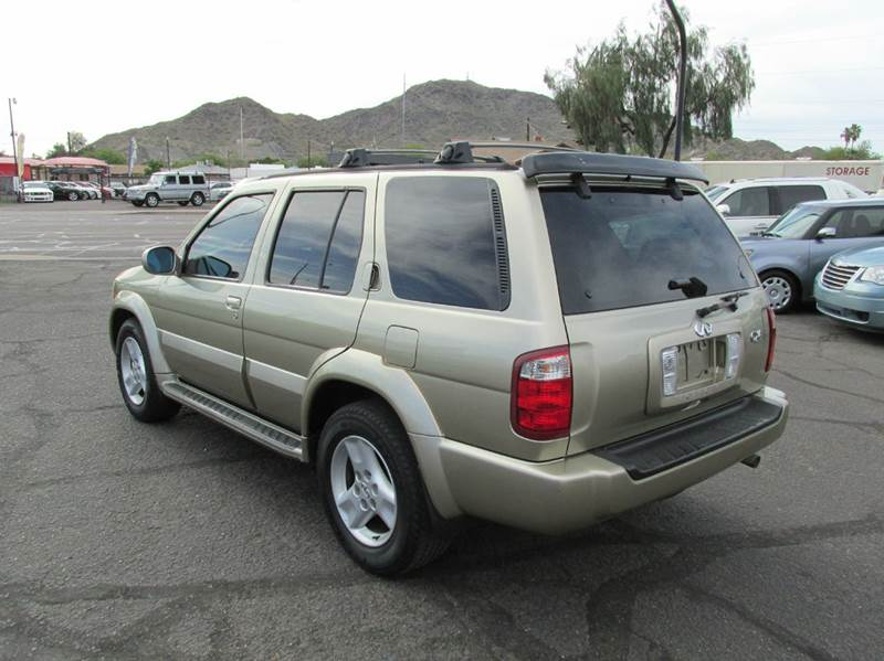 2002 Infiniti QX4 Base 4WD 4dr SUV - Phoenix AZ