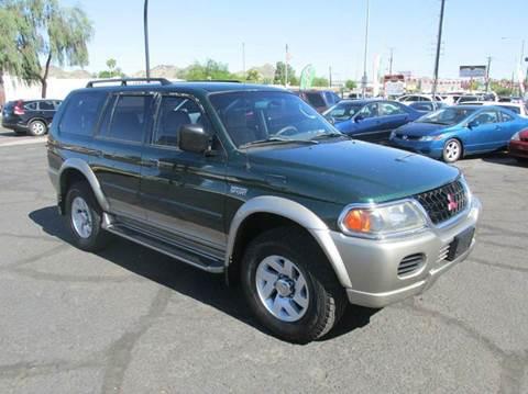 2001 Mitsubishi Montero Sport for sale in Phoenix, AZ