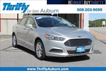 2013 Ford Fusion for sale in Auburn, MA