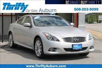 2012 Infiniti G37 Coupe for sale in Auburn, MA