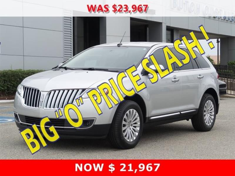 2013 Lincoln Mkx 4dr Suv In Gulfport Ms Butch Oustalet