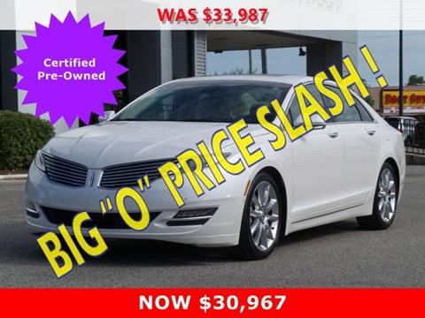 Lincoln Ford Lincoln Cars Financing For Sale Gulfport Butch Oustalet