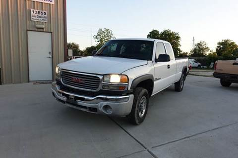 2007 GMC Sierra 2500HD for sale in Houston, TX