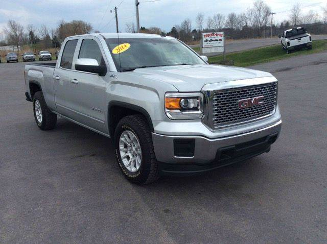 2014 gmc sierra 1500 4x4 sle 4dr double cab 6 5 ft sb in central square ny trucks r us. Black Bedroom Furniture Sets. Home Design Ideas
