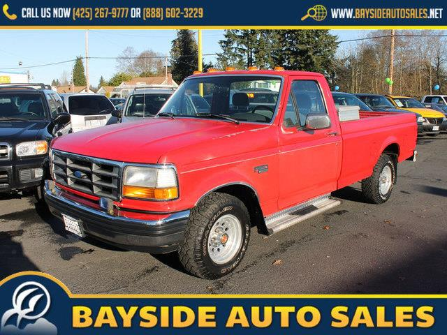 Used 1992 ford f 150 for sale for Checkered flag motors everett wa