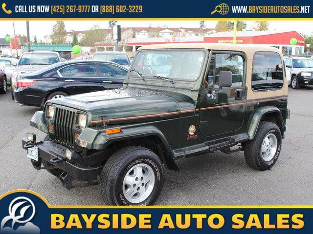 1995 Jeep Wrangler 2dr Sahara 4wd Suv In Everett Wa