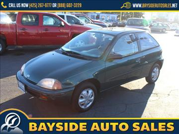 1997 GEO Metro for sale in Everett, WA